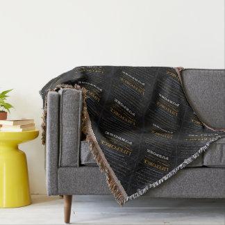 LifeForce Meditation Rug: PURPOSE Throw Blanket