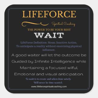 LifeForce Stickers 20PK: WAIT
