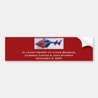 LifeGuard Alaska N141LG Bumper Sticker