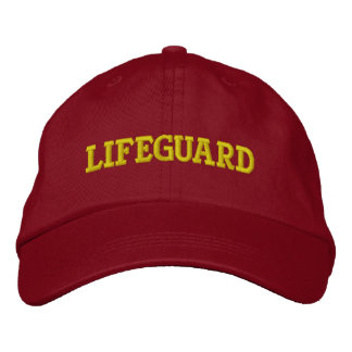 LIFEGUARD EMBROIDERED HAT
