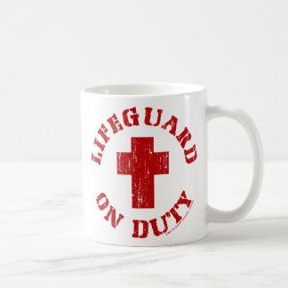Lifeguard On Duty Coffee Cup 15oz Basic White Mug