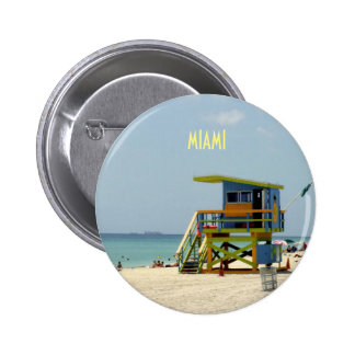 Lifeguard Shack 2 Inch Round Button