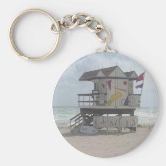 Lifeguard Shack Key Ring