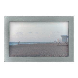 lifeguard shack on beach with walker belt buckles