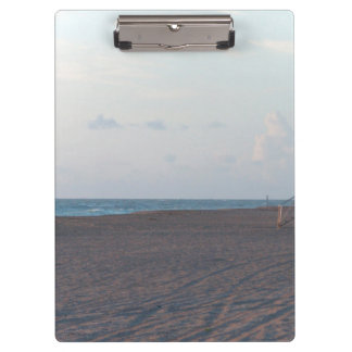 lifeguard shack on beach with walker clipboard