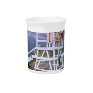 Lifeguard Stand Beverage Pitcher