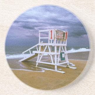 Lifeguard Stand Drink Coaster