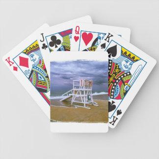 Lifeguard Stand Poker Deck