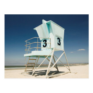Lifeguard Stand   San Diego, Ca Postcard