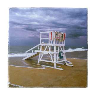 Lifeguard Stand Small Square Tile
