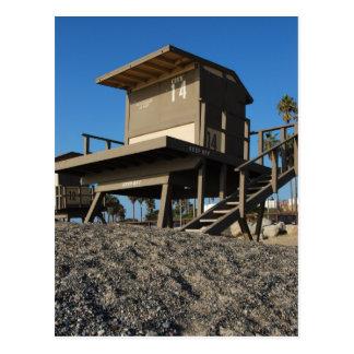 Lifeguard Tower 14 Postcard