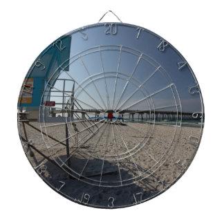 Lifeguard Tower at Panama City Beach Pier Dartboard