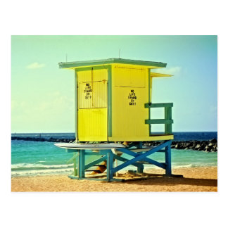 Lifeguard Tower at the Jetty Postcard