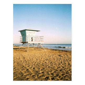 Lifeguard Tower in Santa Cruz Postcard