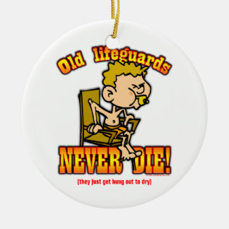 Lifeguards Ceramic Ornament