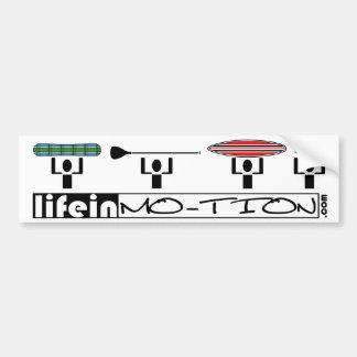 LifeinMotion_Bumpersticker Bumper Sticker