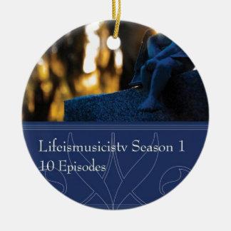 Lifeismusicistv Season 1 Format: DVD Round Ceramic Decoration