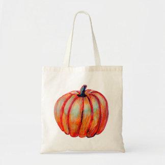 Lifelike Pumpkin on Budget Tote Bag