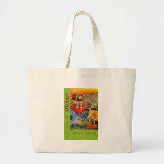 Lifelines Cover 2 Jumbo Tote Bag