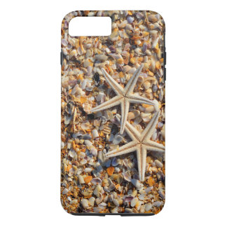 Life's a Beach Let's Play Seashells and Starfish iPhone 8 Plus/7 Plus Case