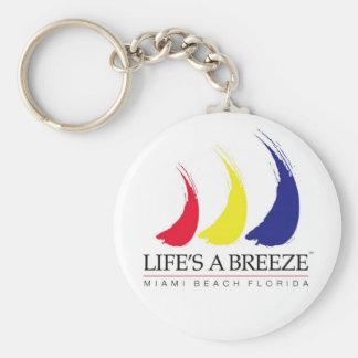 Life's a Breeze_Miami Beach keychain