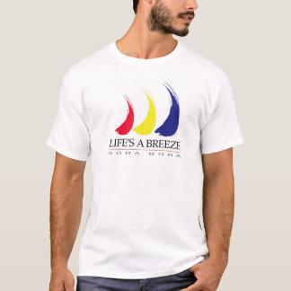 Life's a Breeze™_Paint-The-Wind_Bora Bora t-shirt