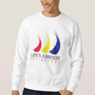 Life's a Breeze®_Paint-The-Wind_Sailing USA Sweatshirt