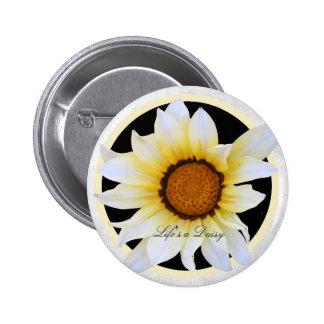 Life's a Daisy II Button