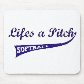 Lifes a Pitch! Mouse Pads