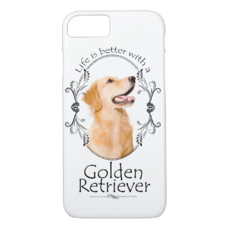 Lifes Better Golden Smartphone Case