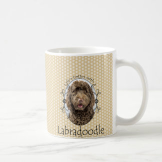 Life's Better Labradoodle Mug