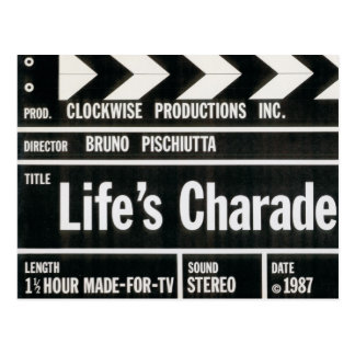 LIFE'S CHARADE Postcards