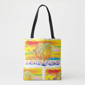 Life's Crazy Sunset Dreamin Tote Bag