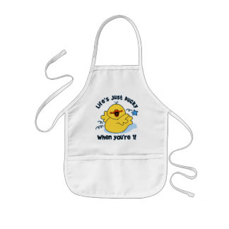Life's Ducky 1st Birthday Aprons
