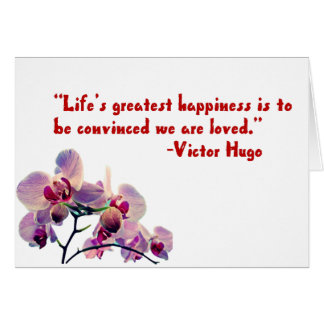 Life's greatest happiness card