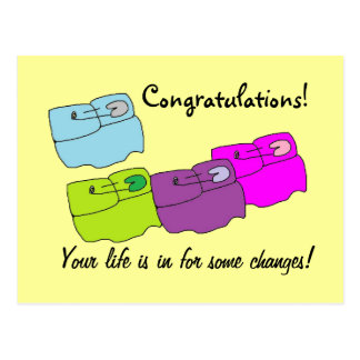 Life's little changes Card Postcard