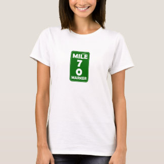 Life's Mile Marker - 70 T-Shirt
