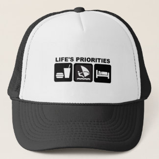 Life's Priorities, Windsurfing Trucker Hat