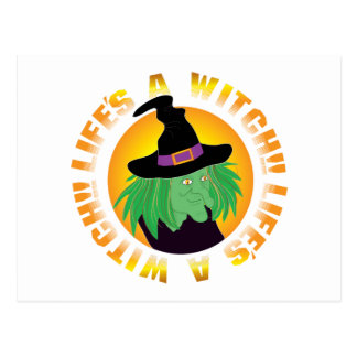 Lifes Witch Postcard