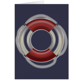 Lifesaver Greeting card