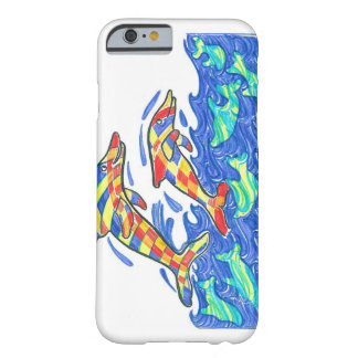 Lifesaver Rainbow Dolphins Barely There iPhone 6 Case