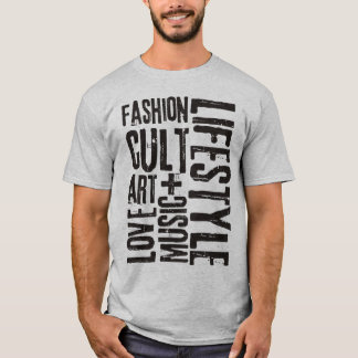 LIFESTYLE FASHION CULT - black T-Shirt