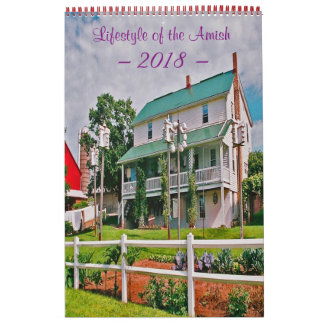 Lifestyle of the Amish Calendar