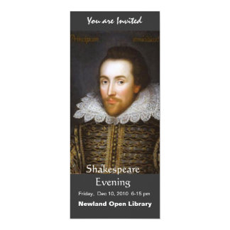 Lifetime Portrait of Shakespeare Card