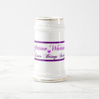 Lifetime Warranty Beer Steins