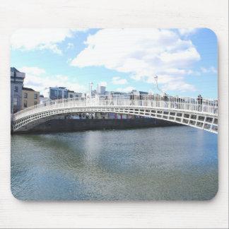 Liffey Bridge - Ha'penny Bridge Mousepads