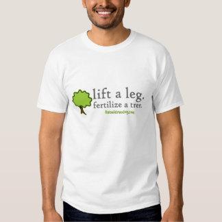 Lift a leg. Fertilize a tree. Tshirt