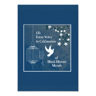 Lift Every Voice BHM Party Invitations