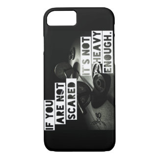 Lift Heavy - Bodybuilding Workout Motivational iPhone 8/7 Case