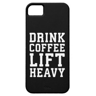 Lift Heavy, Drink Coffee - Funny Gym Motivational Barely There iPhone 5 Case